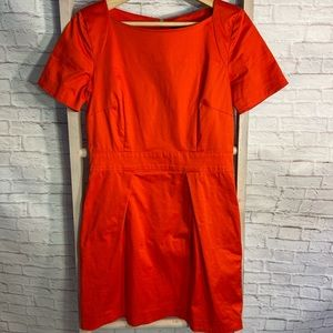 💝 3/$75 French Connection Orange Dress